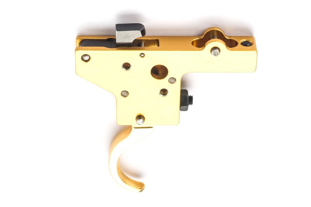Okidač bez kočnice, pozlaćen - Mauser 98/48, Zastava M70