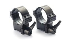 Prsteni - Tikka T3 - 25.4 mm, ručica