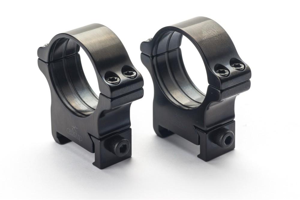 Weaver prsteni - 25.4 mm, vijak