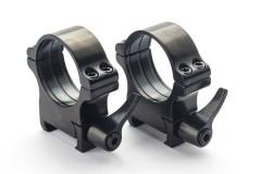 Weaver prsteni - 30 mm, ručica