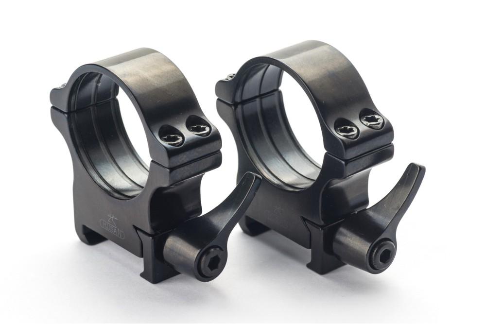 Weaver prsteni - 36 mm, ručica