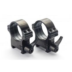 Weaver prsteni - 40 mm, ručica