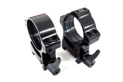 Weaver prsteni (jedan prsten ima pripremu za adapter) - 30 mm, ručica